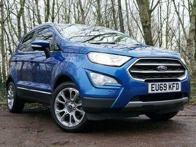 used Ford Ecosport 1.0 TITANIUM 5d 124 BHP
