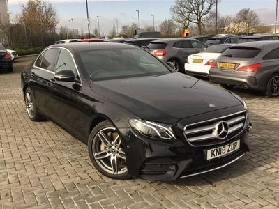 used Mercedes E350 E CLASS DIESEL SALOONAMG Line 4dr 9G-Tronic 2018/18