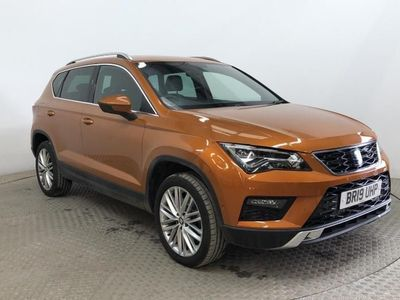 used Seat Ateca TDI XCELLENCE DSG - BEST PRICE IN THE UK - COMPARE THIS VALUE !! Hatchback 2019