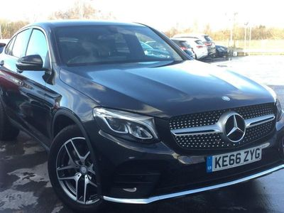 used Mercedes 220 GLC DIESEL COUPE GLC4Matic AMG Line 5dr 9G-Tronic