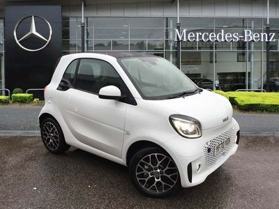 used Smart ForTwo Coupé 60kW EQ Prime Exclusive 17kWh 2dr Auto [22kWCh]