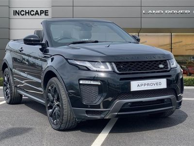 used Land Rover Range Rover evoque DIESEL CONV 2.0 SD4 HSE Dynamic 2dr Auto 2017/67