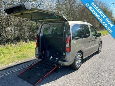 used Peugeot Partner Tepee 5 Seat Euro 6 Wheelchair Accessible Disabled Access Ramp Car 1.6 5dr