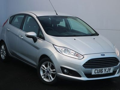 used Ford Fiesta 1.5 Tdci Zetec 5Dr