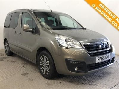 used Peugeot Partner Tepee 5 Seat Euro 6 Wheelchair Accessible Disabled Access Ramp Car