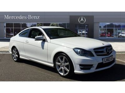 used Mercedes C180 C CLASS 2013 Sunderland[1.6] BlueEFFICIENCY AMG Sport 2dr Auto Petrol Coupe