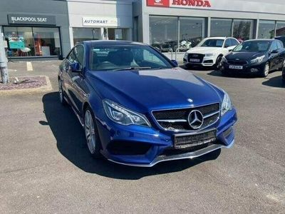 used Mercedes E220 E Class 2.1AMG Line Edition 7G-Tronic Plus (s/s) 2dr diesel coupe