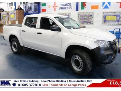 used Mercedes 250 X Class2.3 PURE D 190PS 4MATIC DOUBLE CAB PICK UP, 2018, not known, 16000 miles.