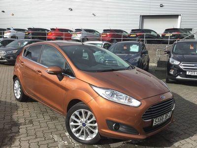 used Ford Fiesta 1.0 Ecoboost Titanium X 5Dr Powershift