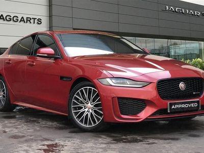 used Jaguar XE 2.0d R-Dynamic S Saloon 4dr Diesel Auto (s/s) (180 ps)