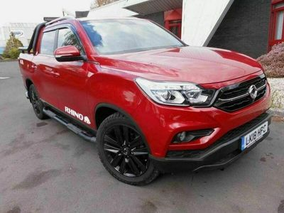 used Ssangyong Musso 2.2d Rhino Double Cab Pickup Auto 4WD EU6 4dr