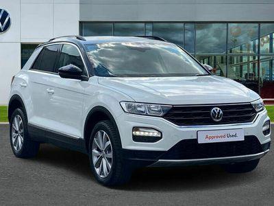 used VW T-Roc 2017 1.5 TSI Design 150PS EVO DSG