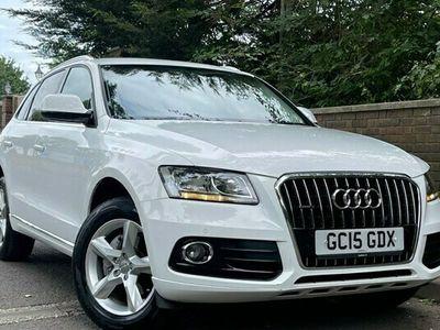 used Audi Q5 2.0L TDI QUATTRO SE 5d 187 BHP