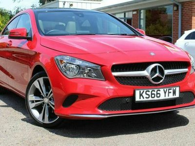 used Mercedes CLA220 CLA 2.1dSport Coupe 4d