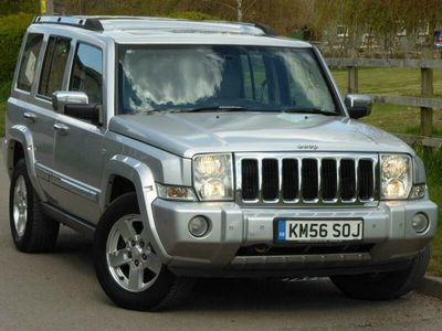 used Jeep Commander 3.0 CRD V6 Limited 4x4 5dr
