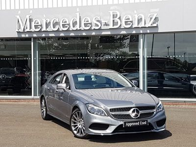 used Mercedes CLS350 CLSBluetec Amg Line Pre Plus 4Dr 9G-Tronic