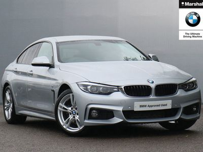 used BMW 430 4 Series d M Sport 5dr Auto [Professional Media] Hatchback 2019