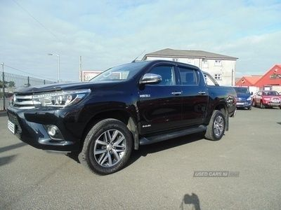used Toyota HiLux INVINCIBLE D-4D 4WD