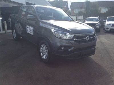 used Ssangyong Musso Double Cab Pick Up EX 4dr AWD 2.2