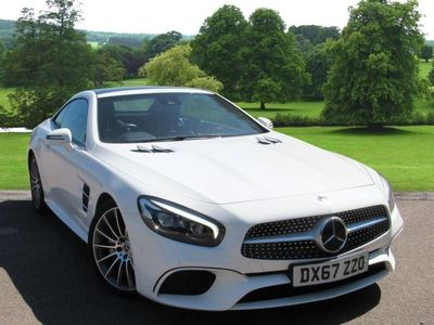 used Mercedes SL400 SL CLASSAMG Line 2dr 9G-Tronic Convertible 2017