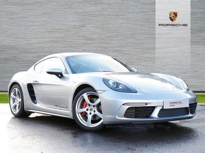 used Porsche 718 Cayman COUPE 2.5 S 2dr 2019/19