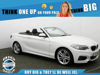 used BMW 220 2 Series D M SPORT for sale | Big Motoring World