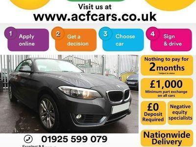used BMW 218 2 Series i SE - CAR FINANCE FR £56 PW Auto Coupe 2015