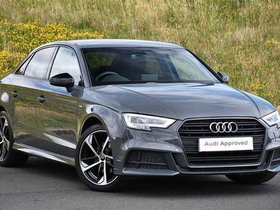 used Audi A3 Saloon Black Edition 35 TFSI 150 PS S tronic