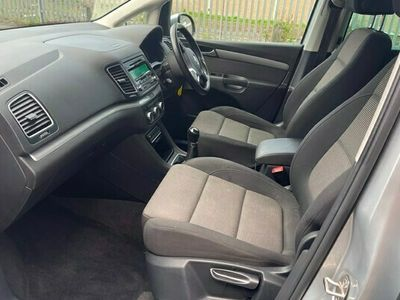 used VW Sharan Estate 2.0 TDI CR BlueMotion Tech (140bhp) SE 5d