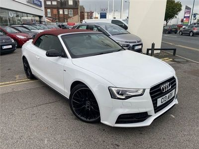 used Audi A5 Cabriolet Cabriolet 2.0 TDI S line Special Edition Plus (s/s) 2dr
