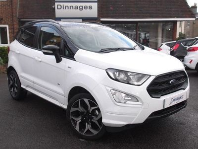 used Ford Ecosport ST-LINE 1.5 ECOBLUE TDCi 125ps AWD 5dr