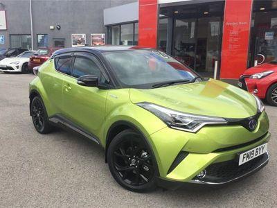 used Toyota C-HR C-HR 20191.8 Hybrid Lime Edition 5dr CVT Hatchback 2019