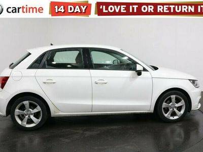 used Audi A1 Sportback 1.0 TFSI SPORT NAV 5d 93 BHP Your dream car can become a reality with cartime's fantastic finance deals.