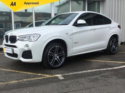 used BMW X4 2.0 20d M Sport Auto xDrive (s/s) 5dr