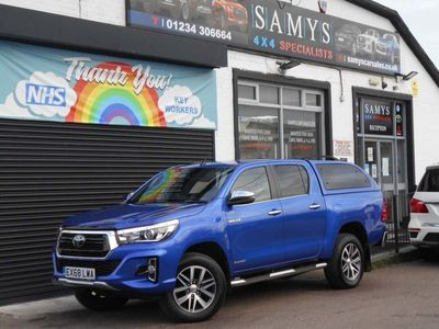 used Toyota HiLux 2.4 D-4D Invincible X AT35 Double Cab Pickup Auto 4WD EU6 (s/s) 4dr
