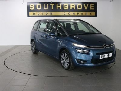 used Citroën Grand C4 Picasso 1.6 BLUEHDI EXCLUSIVE 5d 118 BHP ** 6 MONTHS NATIONWIDE WARRANTY **