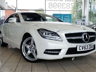 used Mercedes CLS250 CLS 2.1CDI BlueEFFICIENCY AMG Sport 7G-Tronic Plus 4dr Auto