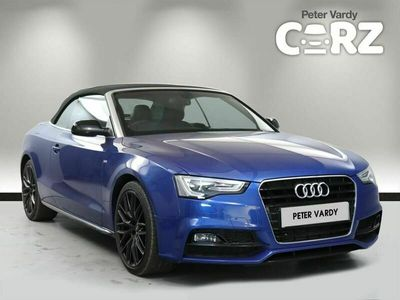 used Audi A5 Cabriolet 1.8T FSI 177 S Line Special Edition Plus 2dr