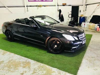 used Mercedes E250 E Class 2.1CDI BlueEFFICIENCY Sport Edition 125 Cabriolet 7G-Tronic Plus (s/s) 2dr