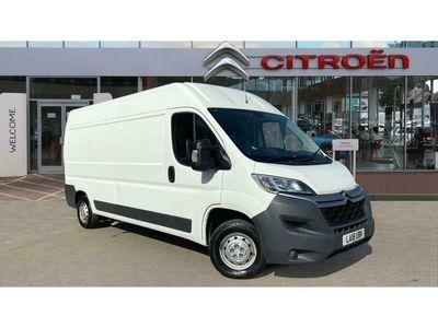 used Citroën Relay 35 L3 Diesel 2.0 BlueHDi H2 Van 130ps Enterprise