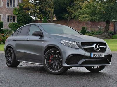 used Mercedes GLE63 AMG  GLE CoupeS 4Matic Night Edition 5dr 7G-Tronic Auto
