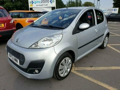 used Peugeot 107 PETROL MANUAL HATCHBACK 5 DOORS