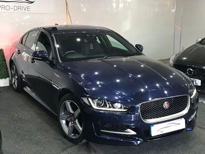 used Jaguar XE 2.0d R-Sport Black Edition Saloon 4dr Diesel Auto (s/s) (180 ps)