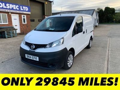 used Nissan NV200 1.5 DCI ACENTA 90 BHP LOW MILEAGE