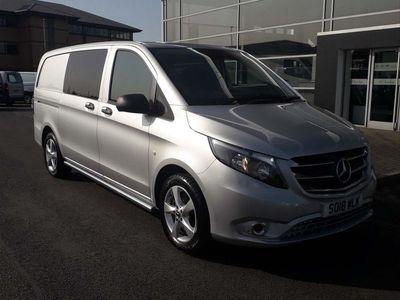used Mercedes Vito 2.1 119 CDi Sport Crew Van G-Tronic+ RWD L2 EU6 (s/s) 5dr