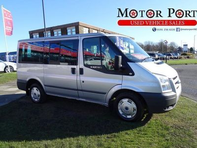 used Ford Tourneo Transit 2.2 TDCi 280 DuratorqTrend Low Roof Bus S 6dr (9 Seats,