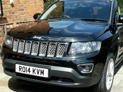 used Jeep Compass 2.4 Limited P-Tech 4WD 5dr