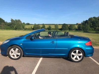 used Peugeot 307 CC 2.0 HDi Sport 2dr