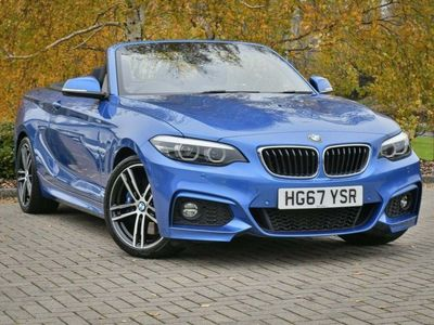 used BMW 220 2 Series i M Sport Convertible 2018