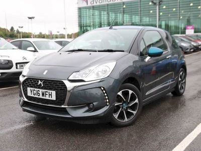 used DS Automobiles DS3 1.6 BlueHDi Elegance 2dr, 2016, Coupe, 42319 miles.